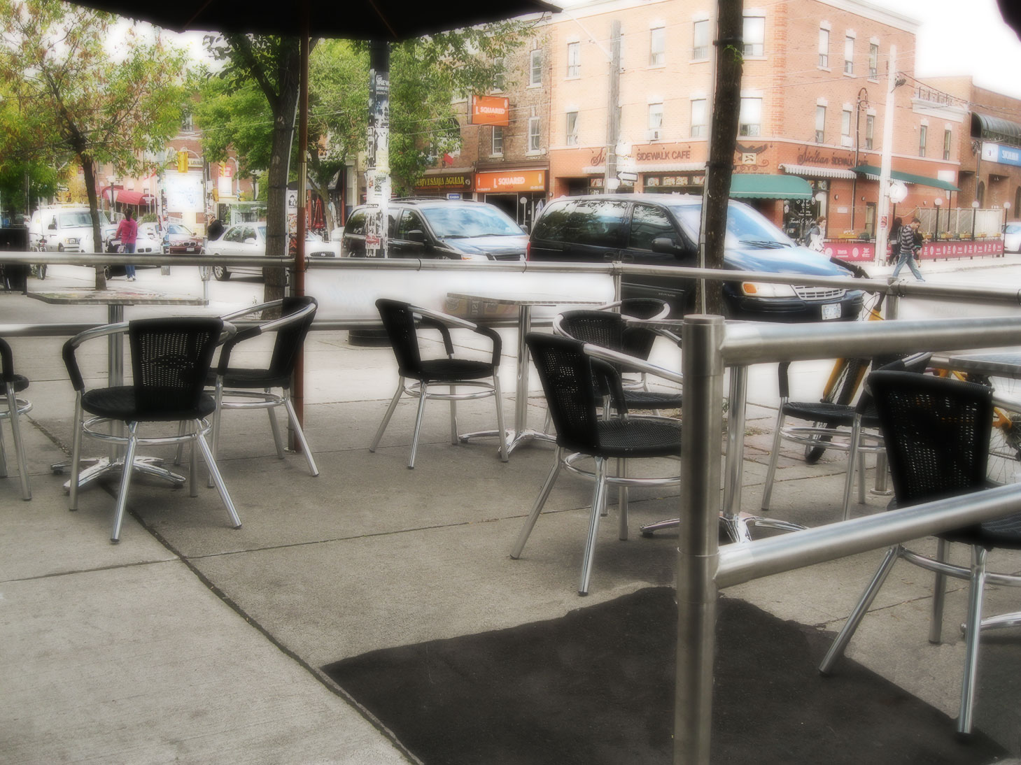 Patio on College St.